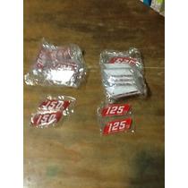 Siambreta Insignia De Acrílico 150 - 125 Color Rojo
