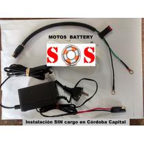 Cargador Mantenedor De Baterías Para Motos Y Cuadris