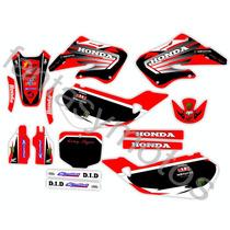 Calcomanias Honda Cr 125- 250 Año 98-99de Competicion