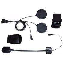 Kit De Parlantes Y Microfono Intercomunicador Sena Smh5fm