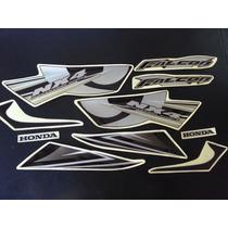 Calcos Honda Nx 400 Falcon Moto Negra