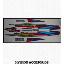 Kit Calcos Moto Yamaha Crypton Ind Nacional