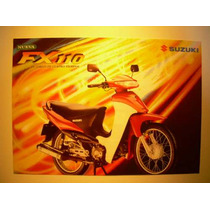 Folleto - Catalogo - Suzuki Scooter Fx 110 - Scooter