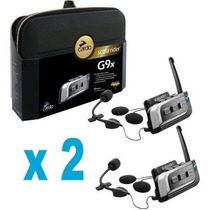 Intercomunicador Scala Riders G9x Kit Completo X 2