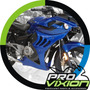 Carenado Racing Bajaj Rouser 220 - Exclusivo Pintado - Gris