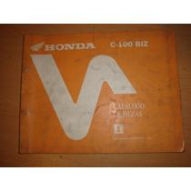 Honda Biz C100 Manual De Despiece Original Impecable