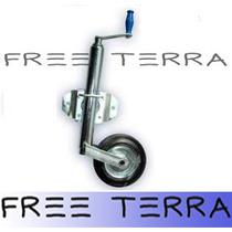 Excelente Rueda Timonera Regulable Para Trailer De Fabrica!