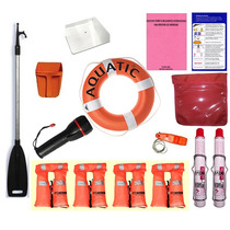 Combo Seguridad Embarcaciones Con Cabina + Ponchos Aquabumps