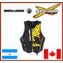 Chaleco Neoprene Sea Doo Original Moto De Agua Jet Ski Wake