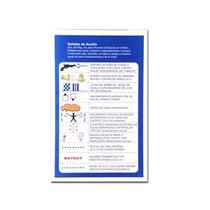 Seguridad Nautica Tabla Señales De Auxilio Reglamentaria