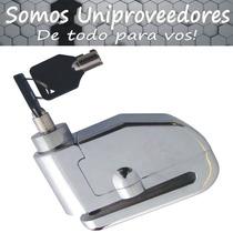 Candado Traba Disco C/ Alarma De 110 Db P/ Motos Uniprovee