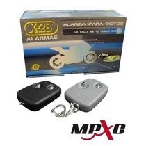 Alarma Para Moto X28 M6 Presencia 2 Controles Mpxc Instalada