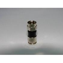 20 Conectores Rg-6 Compresion Cable Coaxil Rg59 Directv Tda