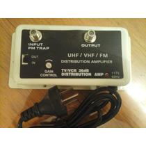 Amplificador Vhf Uhf Fm 36db