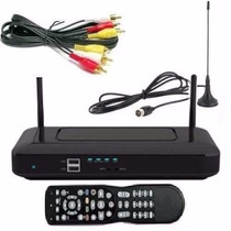 Decodificador Tda Sintonizador Full Hd Tv Digital Con Antena