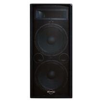 Phonic Se725 Bafle Monitor Caja Pasiva Dual 2x15 1600 Watts