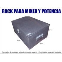 Rack - Anvil Para 1 Potencia Y Consola, Con Herrajes
