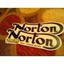 Calcos Al Agua Norton Moto Antigua