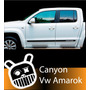 Calco Deccoracion Volkswagen Amarok Canyon, Jml