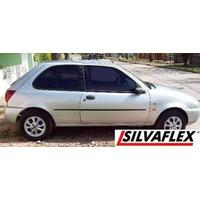 Ford Fiesta 98 / 99 Lx 3p Bagueta De Puerta Izquierda Negra