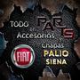 Parrilla 05> 1.8 Marco Cromado Fiat Palio Siena Y Mas...