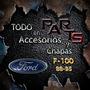 Lateral De Caja Izq, Carga Del/tra 88/95 Ford F-100 Y Mas...