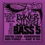 Ernie Ball 2821 Para Bajo 5 Cuerdas 50 / 135 Power Slinky