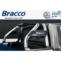 Jaula Antivuelco Bracco Inoxidable Amarok Hilux Ranger S10