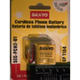 Batería Para Teléfonos Recargables 2/2 A A Gp-t104 Sanyo