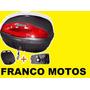 Balijon Portaequipaje 42 Lts P 2 Cascos Negro Franco Motos
