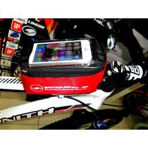Bolso Para Bicicleta,porta Celular Y Accesorios ,works!!
