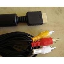 Cable Para Playstation Ps1 Ps2 Ps3 A 3 Rca Mscompu10
