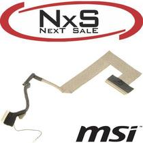Lcd Cable Flex Pantalla Msi U100, U110, U130 - Zona Norte