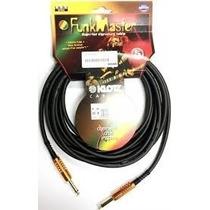 Klotz Tm 0300 Cable Para Bajo 3 Metros Audiomasmusica