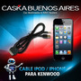 Cable Original De Iphone Ipod Ipad Estereos Autos Kenwood