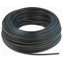 Cable Telefónico Ficha Rj11 4 Hilos Oferta X 100mts Negro