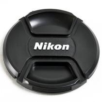Tapa Nikon 52mm Rosario D3000 D3100 D5000 D5100 18-55 55-200