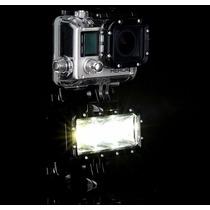 Gopro Luz Led Underwater Acuatica 30metros Completa 2016