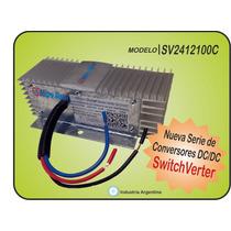 Convertidor De Tensión Cóntínua 24v A 12v - 8a - 10a Pico -