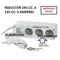Reductor Convertidor De Tension 24 A 12 V.cc 3a Compacto