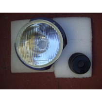 Optica Con Reten Lente Plano 5 3/4 Pulg. P/lamp H4