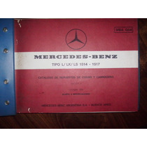 Catalogo Mercedes L/lk/ls 1514-1517.