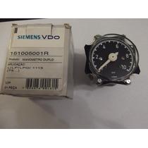 Manometro De Presion Duplo M.benz 1113 Original Siemens Vdo