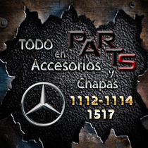 Guardabarro Del. 1112 / 1114 Colecti Mercedes Benz Y Mas...