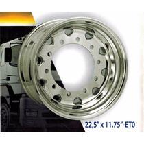 Llanta Aluminio Camion 22.5x11.75 Et0 Tanque Agujero 26/32mm