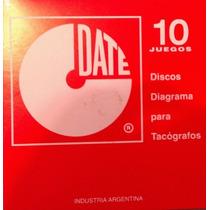 Discos Para Tacografos - 7 X 24 - Lote De 3 Cajas