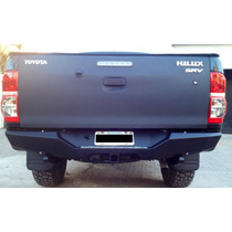 Paragolpe Trasero Toyota Hilux Off Road X-treme,con Enganche