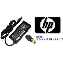 Fuente/cargador Original Hp/compaq 18.5v 3.5a 65w. Pin Fino