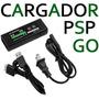 Cargador Fuente + Cable Usb Psp Go N1000 1 Año Gtia Full