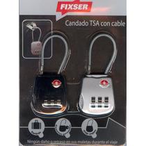 Candado Cable Tsa Equipaje Homologado Aeropuerto Eeuu-usa